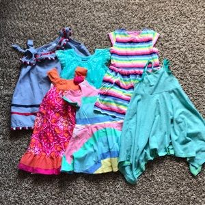 6 Toddler Dresses Bundle